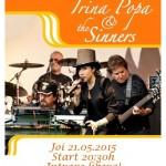 Irina Popa & The Sinners 21 mai