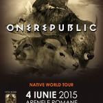 OneRepublic 4 iunie