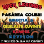 Rock Legends 17 aprilie