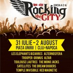 Rocking the city 31 iulie - 2 augut