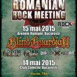Romanian Rock Meeting nou 14 - 15 mai