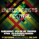 United Artists Festival 27 septembrie a