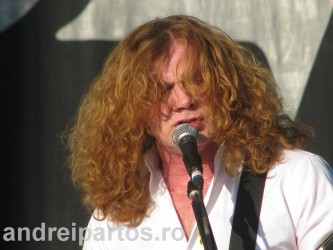 Dave Mustaine (Megadeth) la OST Fest