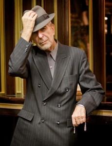 Leonard Cohen in Piata Constitutiei