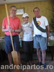 Libby si Mark Gitenstein, Ambasadorul SUA, alaturi de Ivan Patzaichin