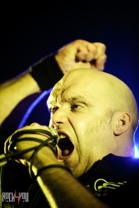 Blaze Bayley in clubul The Silver Church