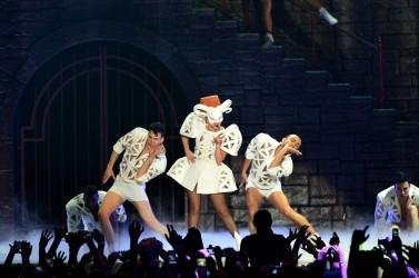 Lady Gaga in Piata Constitutiei