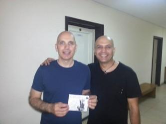 Nicu Patoi şi Joe Satriani