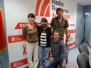 Cătălina, Gyuri, Paul şi Zoltan la RRA