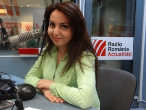 Lucia Dumitrescu la Radio Romania