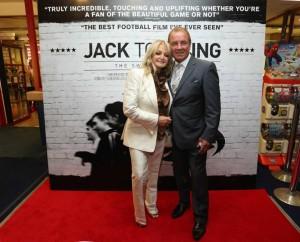 Bonnie Tyler alături de soțul ei, Robert Sullivan