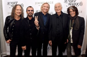 Kirk Hammett, Ringo Starr, Joe Walsh, Jimmy Page și Joe Perry