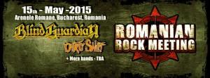 Blind Guardian Romanian Rock Meeting