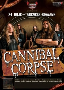 Cannibal Corpse 24 iulie