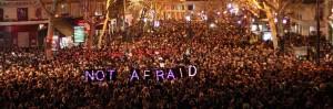 Je Suis Charlie mars in Franta