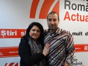 Mihaela Trifu si Mihai Imbarus la RRA