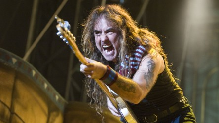 Iron Maiden Perform In Budapest