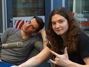 Andrei Vasii si Andrei Balasa la Radio Romania