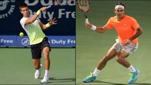 Federer - Djokovici dubai 2015