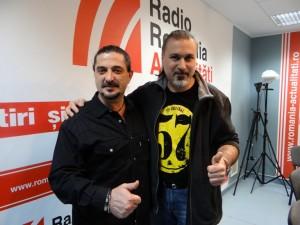 Gabi Nicolau si Adi Manolovici la Radio Romania