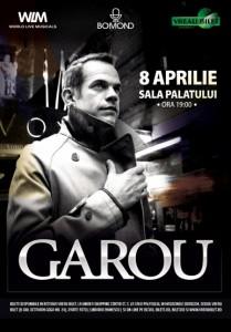 Garou 8 aprilie