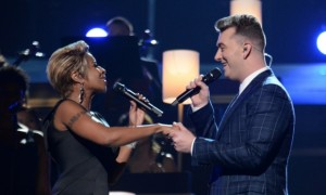 Mary J Blige and Sam Smith