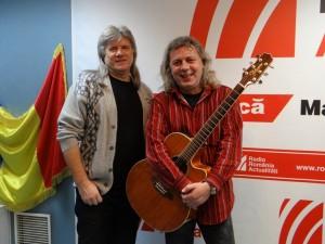 Victor Solomon si Florian Stoica la Radio Romania