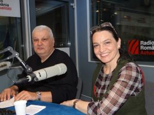 Dumitru Lupu si Ileana Sipoteanu la Radio Romania