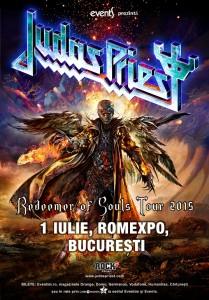 Judas Priest 1 iulie 2015