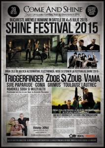 Zdob-si-Zdub Festival SHINE 5 iulie