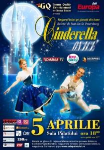 Cinderella On Ice 4 si 5 aprilie