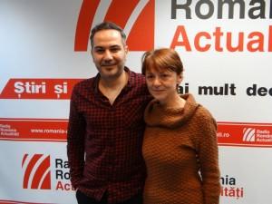 Deniz Cem şi Dana Cristescu la Radio Romania