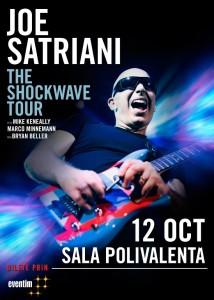 Joe Satriani 12 octombrie