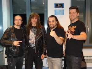 Kempes si Trooper la Psihologul muzical Radio Romania