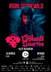 Les Elephants Bizarres 24 aprilie