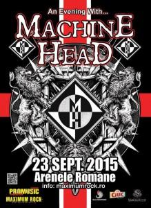 Machine Head in Romania 23 septembrie