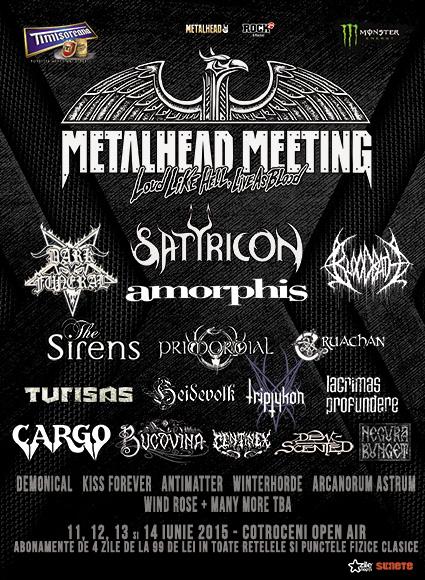 Satyricon Metalhead Meeting 11 - 14 iunie