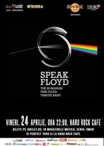 Speak Floyd 24 aprilie