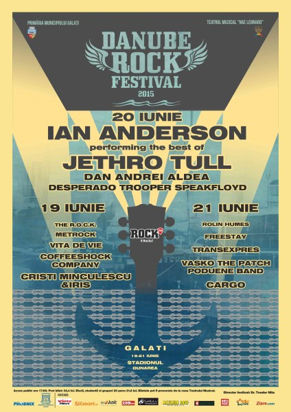 Danube Rock Festival 19 - 21 iunie