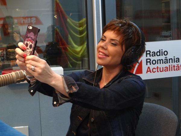 Luminita Anghel la Radio Romania
