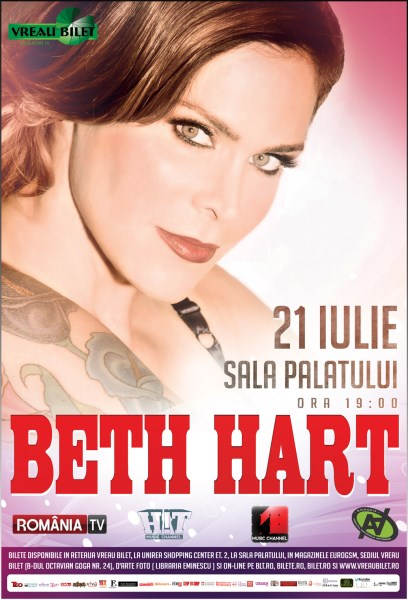 Beth Hart 21 iulie