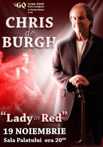 Chris De Burgh 19 noiembrie a