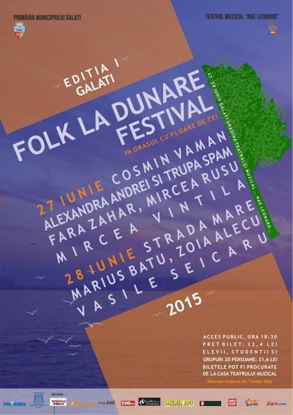 FOLK LA DUNARE 27 - 28 iunie