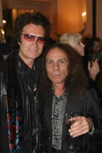 Glenn Hughes şi Ronnie James Dio