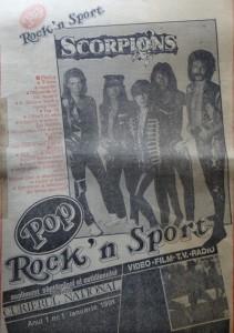 POP ROCK & SPORT nr 1 din 1991