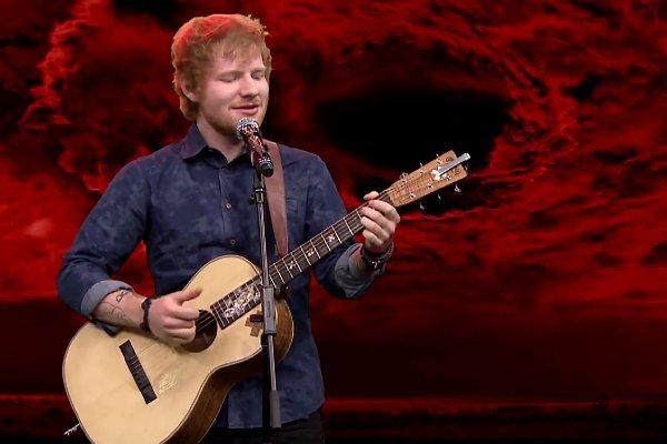 The Tonight Show with Jimmy Fallon ed sheeran