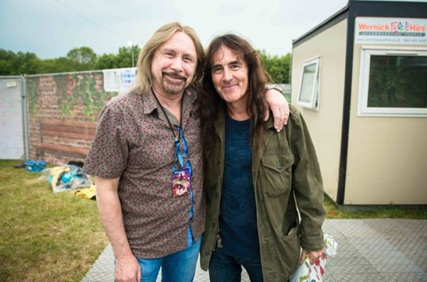 summitul basistilor steve harris si ian hill