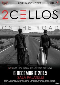 2Cellos 6 decembrie