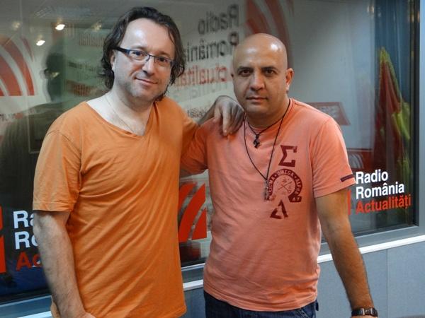 Berti Barbera si Nicu Patoi la Radio Romania