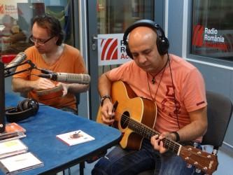 Berti Barbera si Nicu Patoi live la Radio Romania 2015
